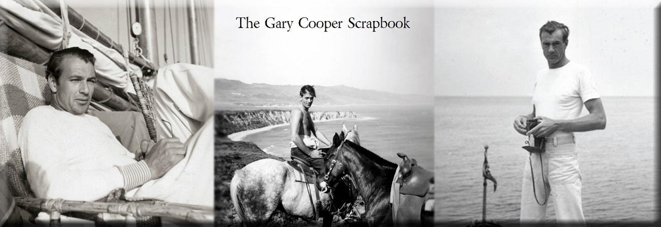 Gary Cooper Scrapbook